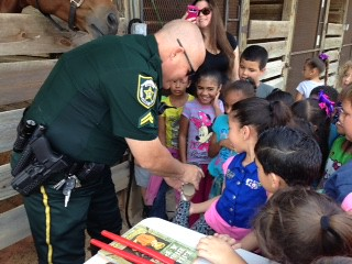 2015 - 1st Grade March 31, 2015 Clarcona Horsemen's Park with Orange County Sheriff's Mounted Unit