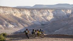 Rest/Pause (ToDoe) Tags: trip dog brown mountain desert motorbike hund valley rest ausflug negev braun pause aussicht tal wste motorrad motobike