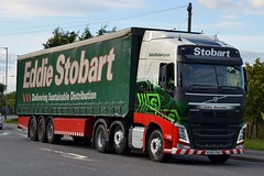 Stobart H4358 KX65 PAO Colina Alexandra at Sherburn 4/9/15 (CraigPatrick24) Tags: road truck volvo cab transport lorry delivery vehicle trailer logistics sherburn sherburninelmet stobart eddiestobart curtainsider volvofh stobartgroup stobartcurtainsider colinaalexandra h4358 kx65pao