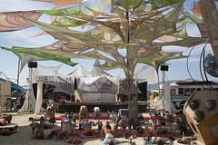 Sacred Spaces (AGrinberg) Tags: roof yoga blackrockcity sacred spaces tensile bm2015 49384sacredspaces