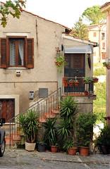 casa (Dario Nardacci) Tags: roma home scala piante borgo cassa centrostorico vasi formello portoncino