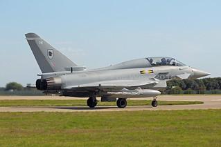 ZJ808/DW  TYPHOON  11sqn  RAF