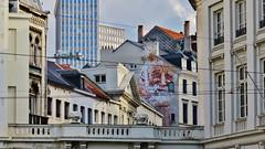 Spear / Bruxelles - 19 sep 2015 (Ferdinand 'Ferre' Feys) Tags: brussels streetart graffiti belgium belgique belgi bruxelles urbanart graff brussel spear graffitiart bxl artdelarue urbanarte