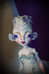 Ninouchka my lovely fish (Tsubasa Make up doll) Tags: fish art doll makeup bjd kane tsubasa bloon nefer