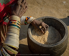 Woman of Thar (ghalibhasnain) Tags: life morning pakistan light sunset sky woman sun colors work artwork village sind thar ngo tharparkar nagarparkar ghalibhasnainphotography ghalibhasnain