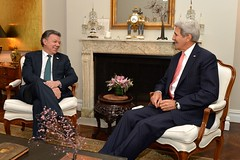 Secretary Kerry Meets With Colombian President Santos in New York City (U.S. Department of State) Tags: newyorkcity colombia un unitednations johnkerry unga juanmanuelsantos unga70 unga2015