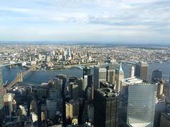 From the Top (One WTC) (elianek) Tags: nyc usa ny newyork topo rio river one top worldtradecenter panoramic eua panoramica wtc hudson novayork