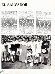 George Best's World Cup Preview - 1970 - Page 49 (The Sky Strikers) Tags: world costa cup boys george wooden war wide honduras spoon el rica best disappointed salvador upset preview underdogs