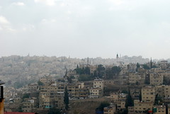 View from South Side of Jebel Amman (jrozwado) Tags: asia minaret amman mosque jordan islamic    jebelamman