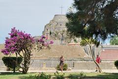 Kerkyra. Old Fortres (vs1k. 1 500 000 visits, Thanks so much !) Tags: flowers mediterranean greece corfu kerkyra ionian fortres spianada