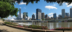 Brisbane city from Southbank (mudge.stephen) Tags: brisbane southbank