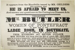 Josephine Butler addresses the women of Pontefract1872