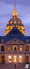 Les Invalides (A.G. Photographe) Tags: sunset paris france french europe ag bluehour capitale franais lesinvalides parisian anto napolon xiii musedelarme parisien antoxiii agphotographe