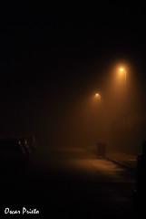 Foto2 (O_Prieto) Tags: noche dia niebla farolas suelo night day fog streetlight flooring espaa leon quintanaderueda oscarprieto