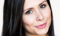 Lenox Knight (drpeterrath) Tags: portrait smile closeup canon model eyes headshot actress eos5dsr