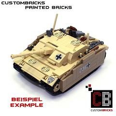 Lego Custom Panzer Tank StuG 3G Afrika CB01-E (LA-Design2012) Tags: door tile pattern tank lego wwii luke fliese bunker round ww2 hatch custom mbt printed armored panzer halftrack bundeswehr reinforced 2x2 klappe sdkfz einstieg 4150 custombricks beruckte 4150px18 4150pb139 4150pb119 4150px24 panzerklappe 4150px panzerluke