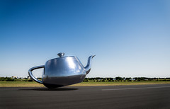 teapot landing2 (protohiro) Tags: aviation teapot renderman ris