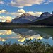 Late Afternoon Waters of Waterfowl Lakes (Banff National Park)