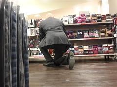 Hidden Camera - Big Beefy Daddy 02 (TBTAOTW2011) Tags: camera old man black leather socks businessman daddy shoe big shoes dress candid beefy business hidden mature sole soles