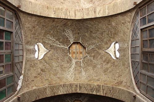 Ceiling Detail in the Historical Bazaar, Arak Iran