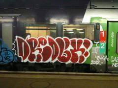 dredux (keeskia) Tags: france train alpes wagon graffiti gare tag graff loire graffeur sncf rhone tagger ter supo dredux