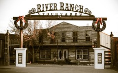 River Ranch Stockyards (mickeyboy2008) Tags: ranch canon cowboy texas western fortworth cowtown stockyards