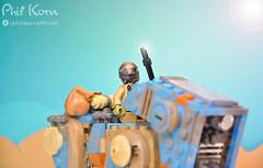 Welcome to the sunny Jakku! (Phil Korn) Tags: lego lego365 legostarwars starwars star wars jakku force awakens forcefriday luggabeast tatooine toys toy philkorn21 photography photoshop look teedo nikon explore afol minifigues sand dunes sun