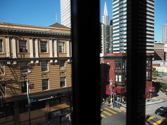 San Francisco 2016 (hunbille) Tags: usa america san francisco sanfrancisco grantplazahotel grant plaza hotel view viewfromgrantplazahotel transamerica pyramid transamericapyramid grantavenue avenue pine street chinatown california