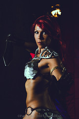 SP_50031-2 (Patcave) Tags: dragon con dragoncon 2016 dragoncon2016 cosplay cosplayer cosplayers costume costumers costumes shot hyborian age red sonja barbarians warriors comics comic book scifi fantasy movie film