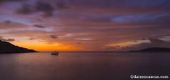 Don Hondoq (Darren Cascun - photos.darrencascun.com) Tags: sunset sun sea morning maltese malta boat hondoq