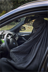 Oh, you bet I can drive! (mariammagsi) Tags: burqa bmw mfa ocad purdah thesis nikon d7200 canada northamerica veils culture identity gender feminism intersectional postcolonial art explore flickr