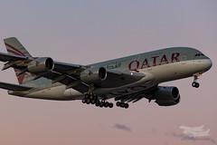 A7-APB QR A380 16R YSSY-1013 (A u s s i e P o m m) Tags: tempe newsouthwales australia au airbus a380 syd yssy sydneyairport qatar qr