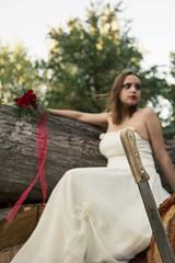 Bride 6 (Javier A. Rodrguez) Tags: bride novia ramo bouquet vestido dress flower flowers flores machete