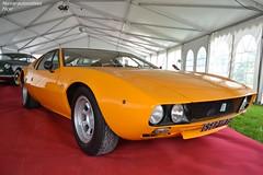 De Tomaso Mangusta 1971 (Monde-Auto Passion Photos) Tags: auto automobile detomaso mangusta coup orange france cercanceaux ancienne sportive