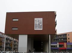Billboard van Jayne Mansfield bij Sparta Stadion in Rotterdam (poedievanlaar) Tags: jayne mansfield sparta rotterdam fc utrecht dos eredivisie stadion spangen old hollywood voetbal football sex symbol aftrap stadium nederland