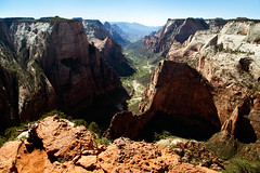 Observation Point (Nick Moore) Tags: zionnationalpark thenarrows zion utah hiking camping