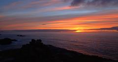 Sunset viewed from Sheigra (Masa Sakano) Tags: climbing gneiss highland scenery scotland seacliff sheigra sunset sutherland trad
