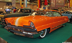 The Dreamsicle (Schwanzus_Longus) Tags: america american beauty big bumper car classic coupe dreamsicle essen german germany led lincoln lot meet motorshow nice oldtimer parking premiere school sled super tone two us usa vehicle vintage coup fahrzeug auto
