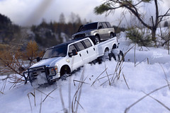 Ford F-350 6 door 6wd 26 (My Scale Passion) Tags: ford f350 meng monogram losi micro mini crawler scale rc modeling custom snow snowrun crawling climbing expedition northpole southpole truck double dual dually duallie 6door 10wd 10x10 125 124 miniz overland landcruiser build