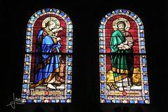 Luxemburg (2016) - Eglise St Alphonse (glanerbrug.info) Tags: kerk 2016 luxembourg luxemburg luxemburgstadt luxembourgcity glasinlood lëtzebuerg lëtzebuergstad luxemburgkantonluxemburg luxemburgstad