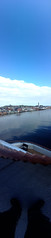Vertical Panorama: Vardø Harbour, from the Deck of the MS Spitsbergen (Phil Masters) Tags: verticalpanorama panorama 19thjuly july2016 norwayholiday norway vardo vardø vardøchurch vardochurch globus globusii globusradar globusiiradar globusradome globusiiradome radome radar vardøharbour vardoharbour shipsandboats hurtigruten msspitsbergen