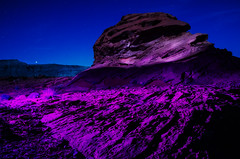 Venus View (~138~) Tags: aftermidnight camping hobgoblinsplayground littlefinland mojavedesert mountain nevada shadowplay travel vegas abstact adventure art ball dark desert electric fullmoon landscape lasvegas light lightjunkies lightart lights longexposure moody motion mountains night nightlights nightphotography outdoors rocks sandstone shadowpeople trippy vacation