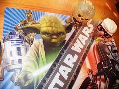 the force (Trixter13) Tags: pixar toys starwars chewbaca placematskull halloween garden gravvestone flowers morningglorys twins democrat republican funny scary