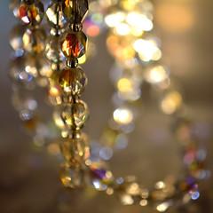Backlit Swarovski Crystals - Macro Monday (c.denisebacher) Tags: swarovskicrystals crystal necklace backlit macro macromonday