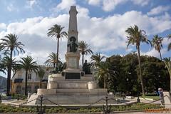 Les Marins De Monument - Carthagne, Espagne - 0212 (rivai56) Tags: cartagena regindemurcia espagne les marins de monument ont pri dans batailles avec en sant iago cuba