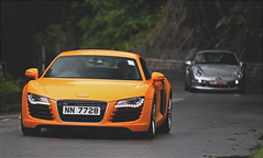 Audi, R8, Big Wave Bay, Hong Kong (Daryl Chapman Photography) Tags: nn7728 audi r8 bwb bigwavebay 1d mkiv car cars auto autos automobile canon eos is ii 70200l f28 road engine power nice wheels rims hongkong china sar drive drivers driving fast grip photoshop cs6 windows darylchapman automotive photography hk hkg bhp horsepower brakes gas fuel petrol topgear headlights worldcars daryl chapman darylchapmanphotography