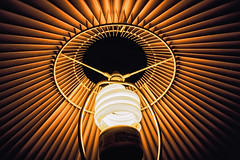 bulb and shade (-liyen-) Tags: aaw activeassignmentweekly lightbulb lampshade history emulation householdobject light lit bulb interior lookingup frombelow fujixt1 bestofweek1 bestofweek2 bestofweek3 bestofweek4