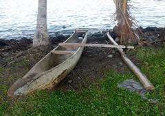 Basic Catamaran (mikecogh) Tags: apia samoa basic simple wood catamaran traditional shore sea