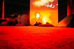 Adventures with Ricoh - Tate Modern - 1 () Tags: 2016 tatemodern tate london ricoh ricohgr art red screen faceless man