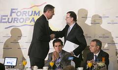 Mariano Rajoy presenta la conferencia de Xavi Garcia Albiol en el Nueva Economa Forum (Partido Popular) Tags: pp partidopopular rajoy marianorajoy nuevaeconomaforum